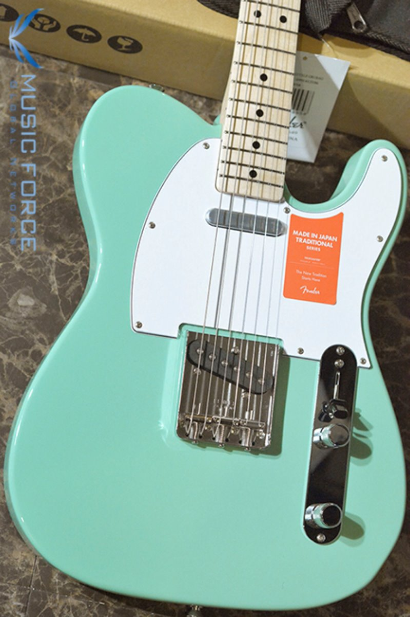 Fender Japan Traditional 70s Telecaster-Surf Green w/Maple FB (2017년산/신품) 팬더 재팬 트레디셔널 70s 텔레캐스터