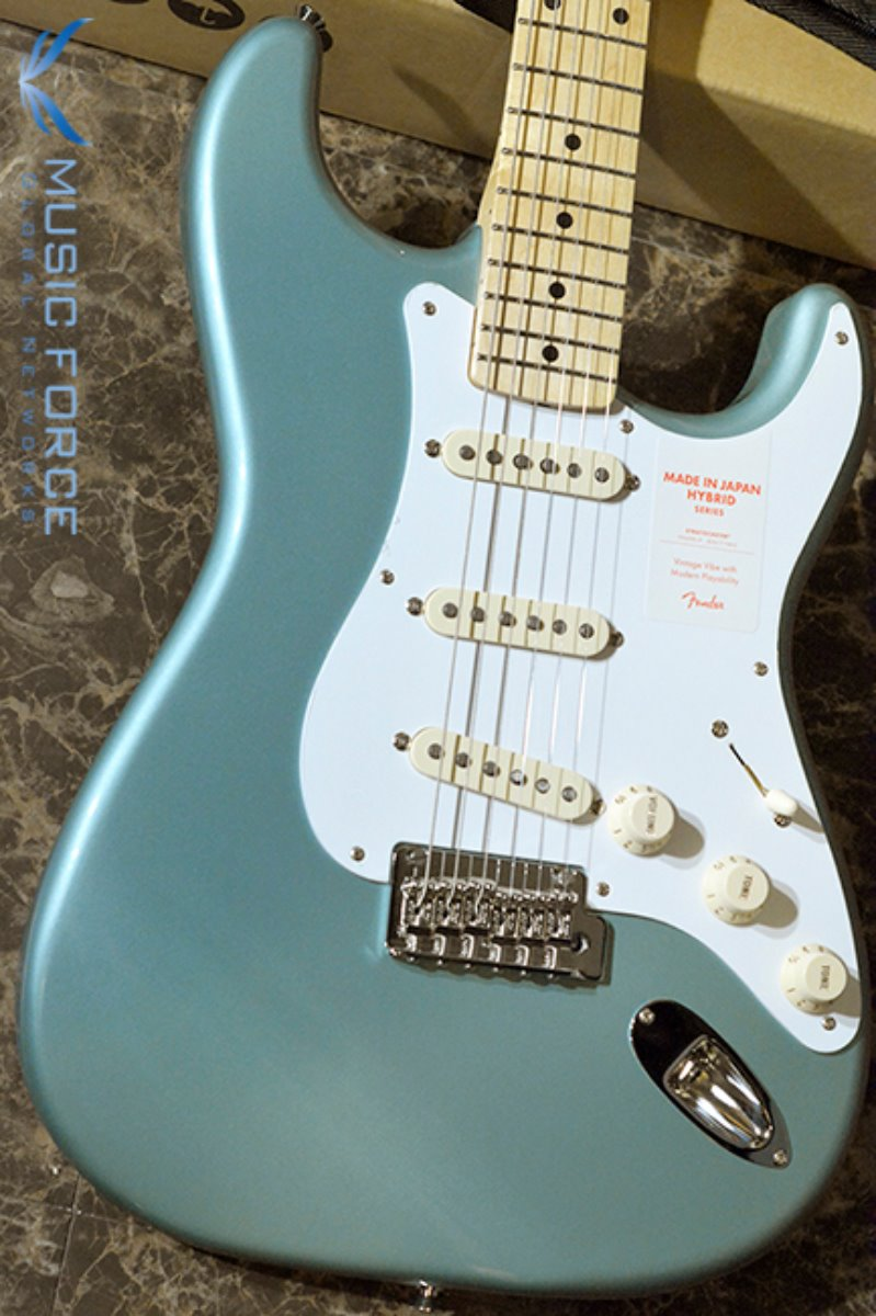 Fender Japan Hybrid 50s Stratocaster-Ocean Turquoise Metallic w/Maple FB (2018년산/신품) 펜더 재팬 하이브리드 50s 스트라토캐스터