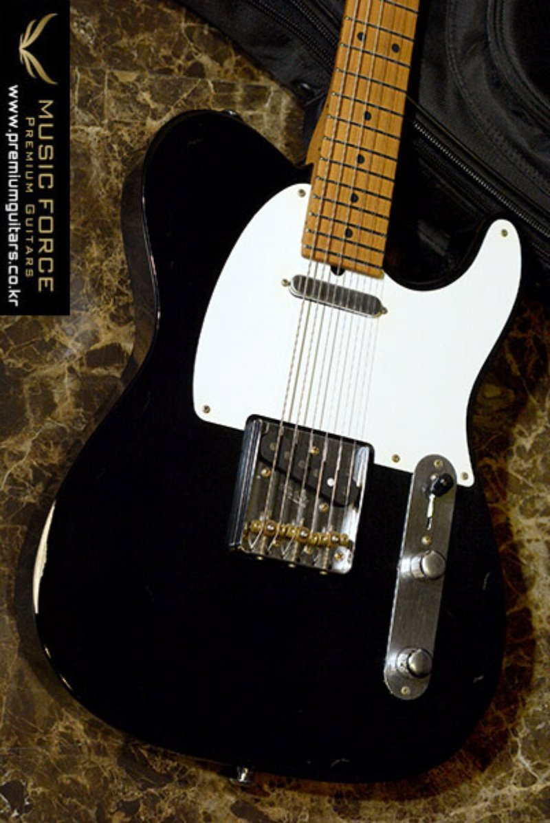 [이월상품창고대방출!!!] Suhr Classic T Antique(Pro-Series)-Black w/Roasted Maple Neck(2014년산/신품)