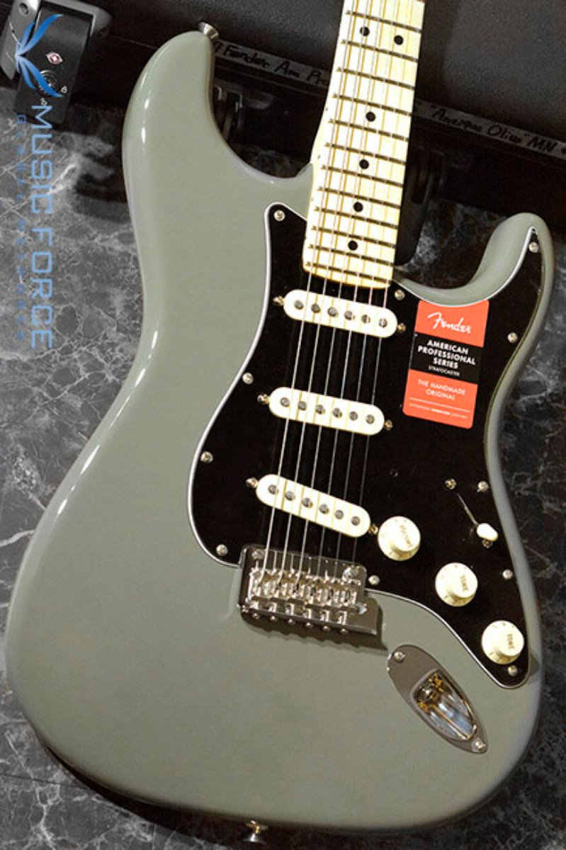 Fender USA American Professional Stratocaster SSS-Antique Olive w/Maple FB(2017년산/신품) 펜더 아메리칸 프로페셔널 스트라토캐스터