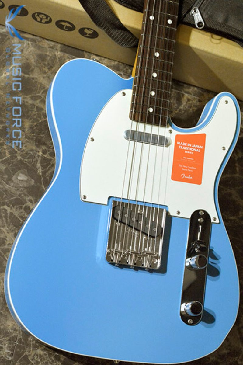 Fender Japan Traditional 60s Tele Custom-California Blue w/Rosewood FB (2017년산/신품) 팬더 재팬 트레디셔널 60s 텔레 커스텀