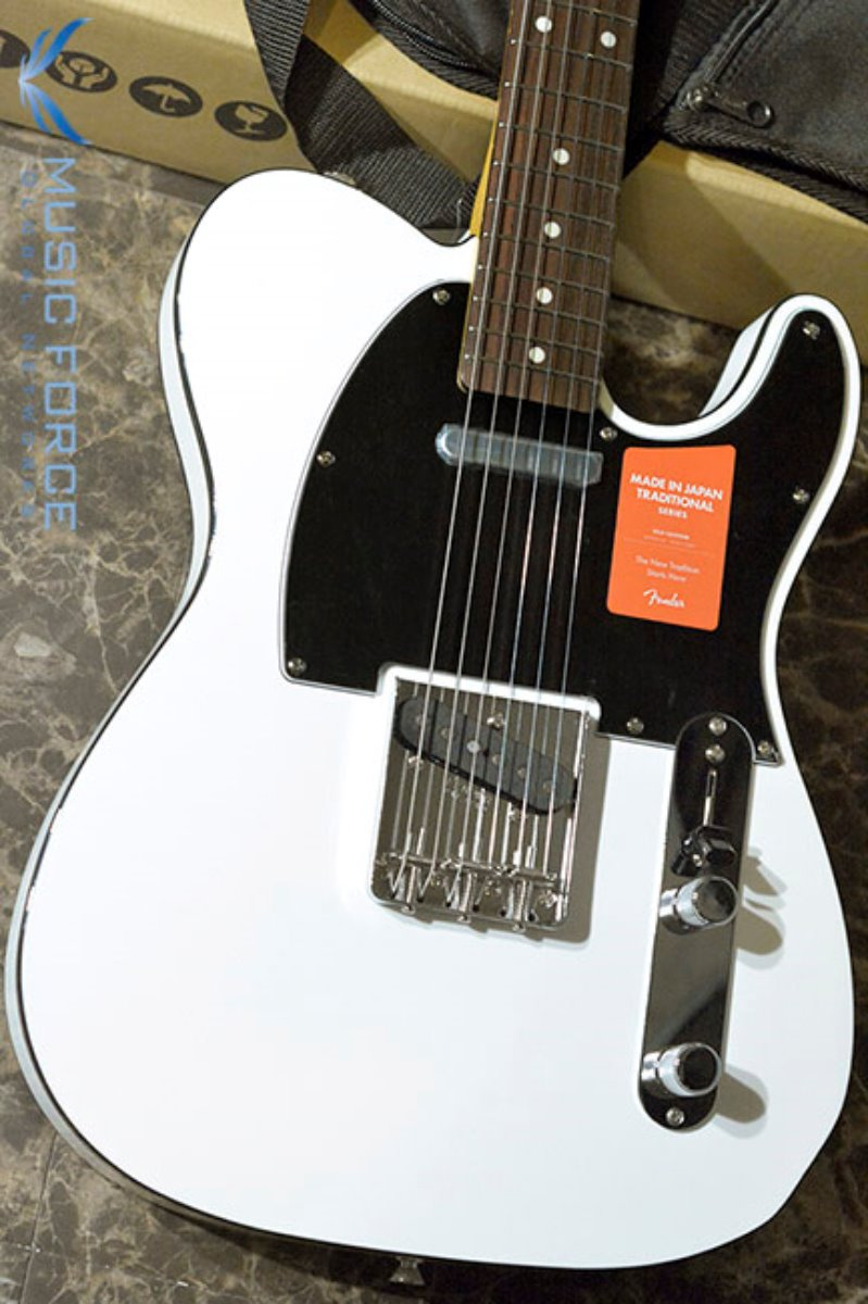 Fender Japan Traditional 60s Tele Custom-Arctic White w/Rosewood FB (2017년산/신품) 팬더 재팬 트레디셔널 60s 텔레 커스텀