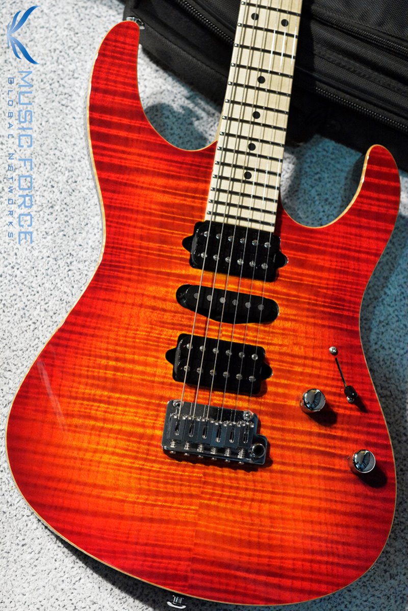 [창사11주년기념세일!!!] Suhr Modern Pro HSH FMT-Fireburst w/Maple FB & Match Figured Headstock(2015년산/신품)