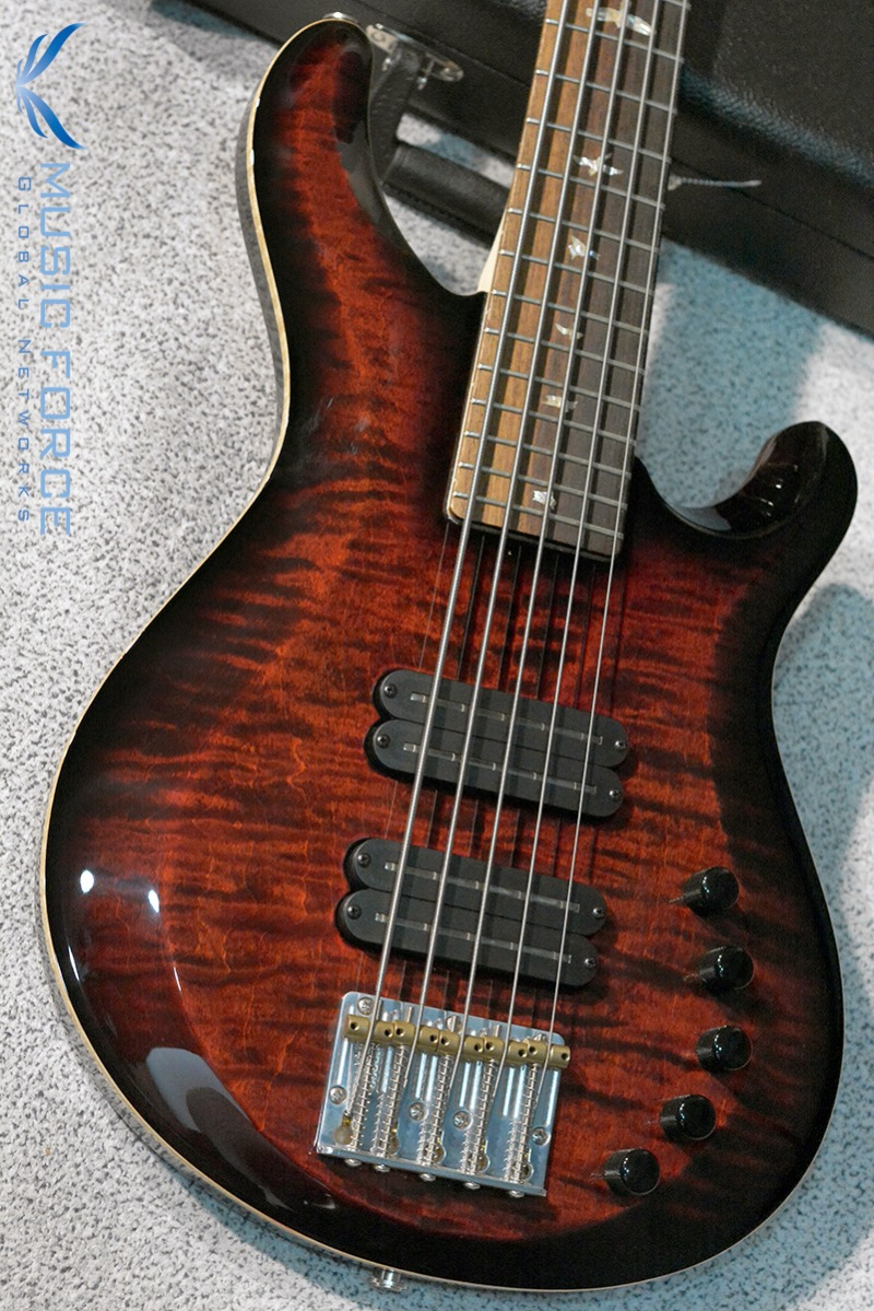 [2018 Final Sale(~12/31까지)!!!] PRS Gary Grainger 5 String Bass FMT-Fire Red Burst(2016년산/신품)