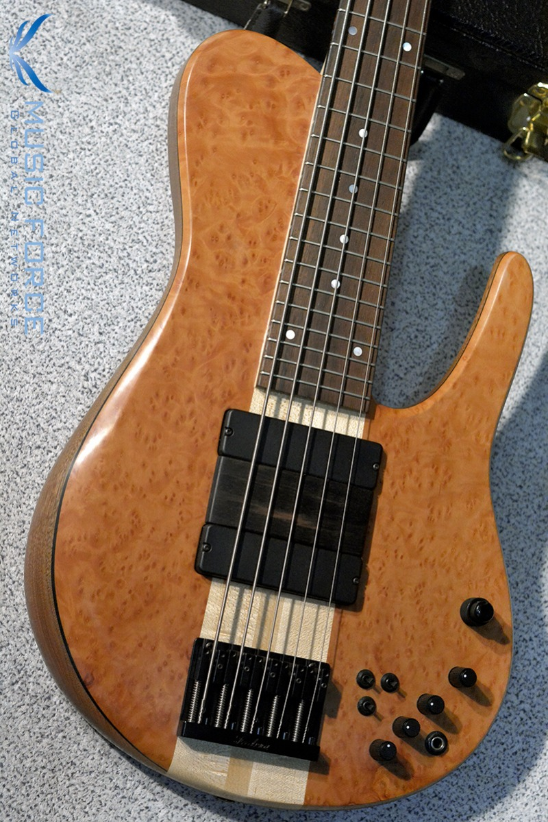 [Used] Fodera Matt Garrison Standard-Madrone Burl Top w/Madagascar Kingwood FB(2015년산/신품급중고)