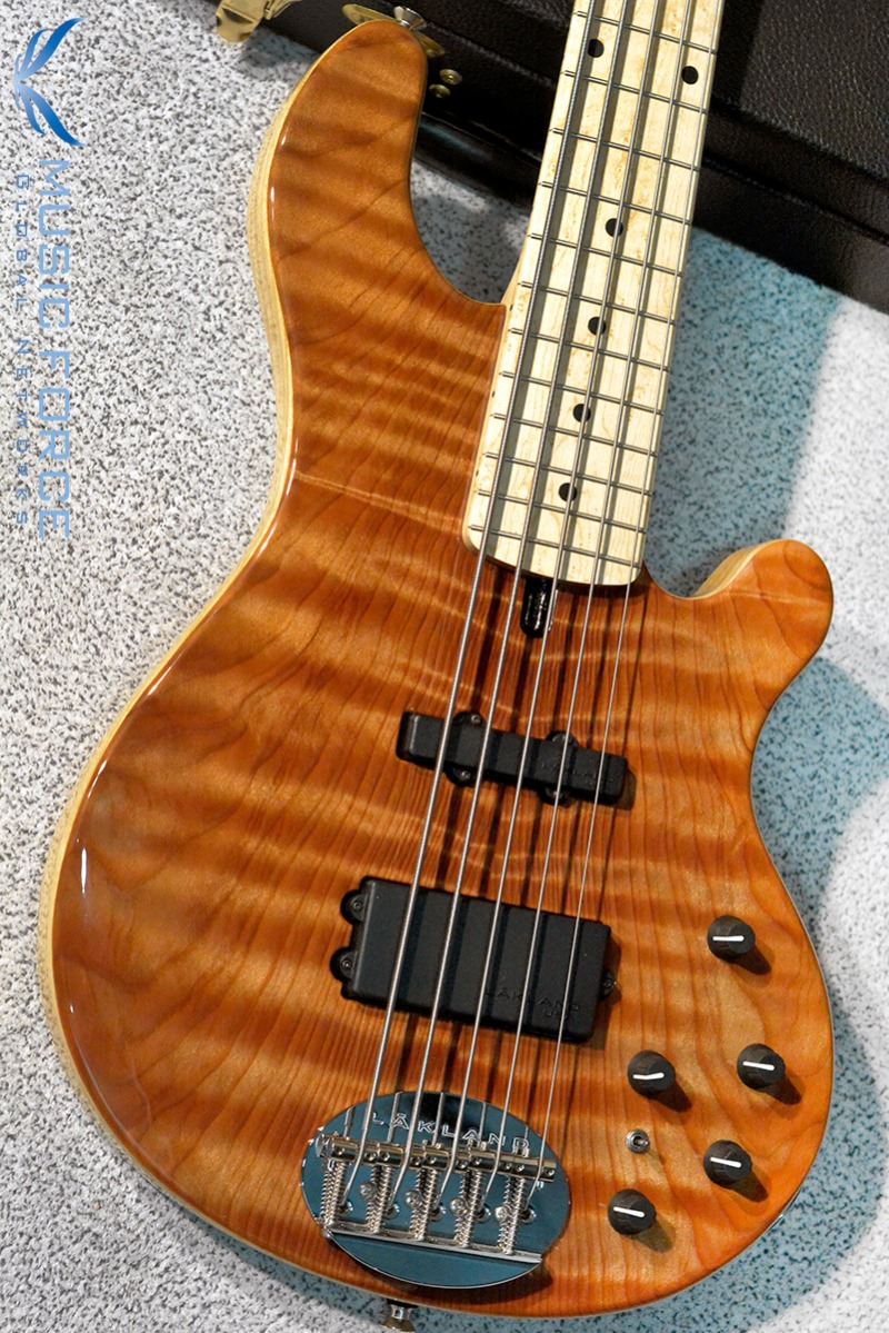 [2018 Final Sale(~12/31까지)!!!] Lakland US Custom 55-94 Deluxe-Quilted Cured Redwood Top w/Birdseye Maple FB(2016년산/신품)