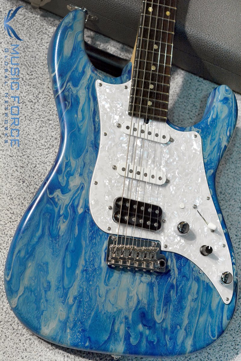 James Tyler USA Studio Elite HD Music Force Limited Edition-Blue Force Shmear w/Macassar Ebony Fingerboard #17 of 25(2017년산/전세계 25대 한정판/신품)