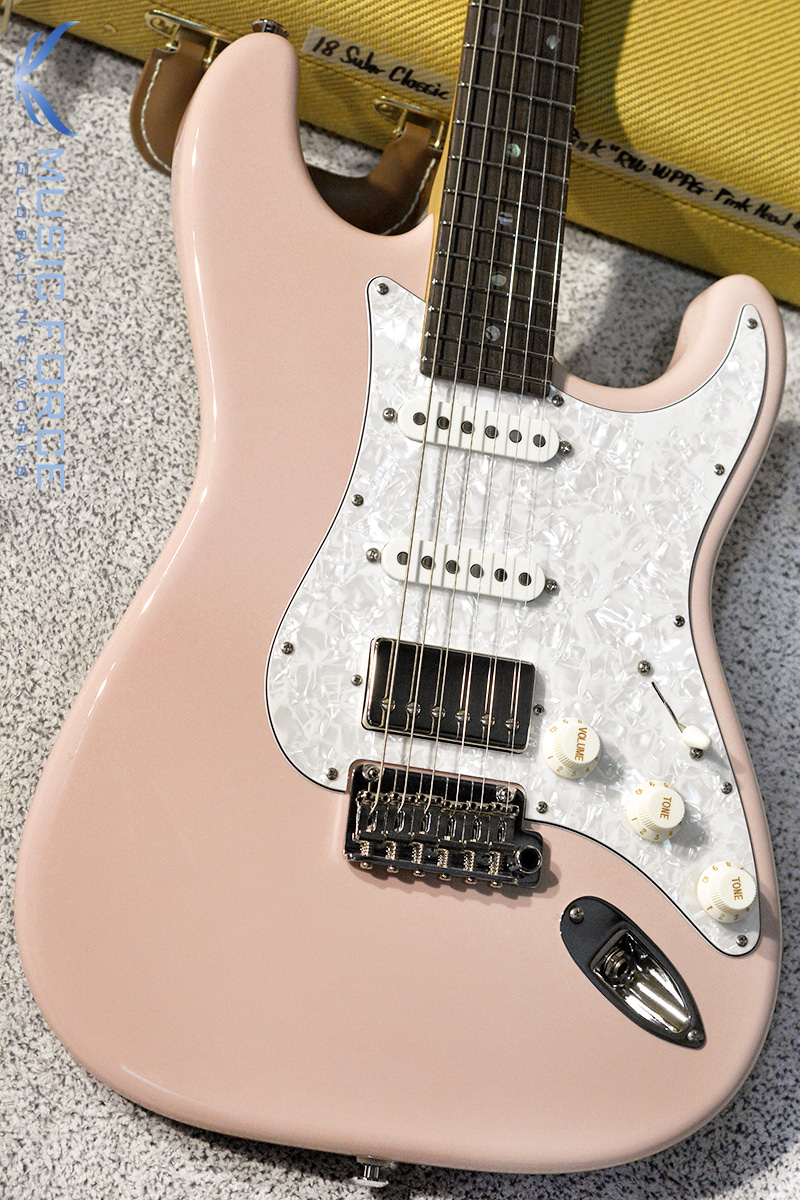 Suhr Classic SSH-Shell Pink w/White Pearl PG & Matching Headstock(2018년산/신품)