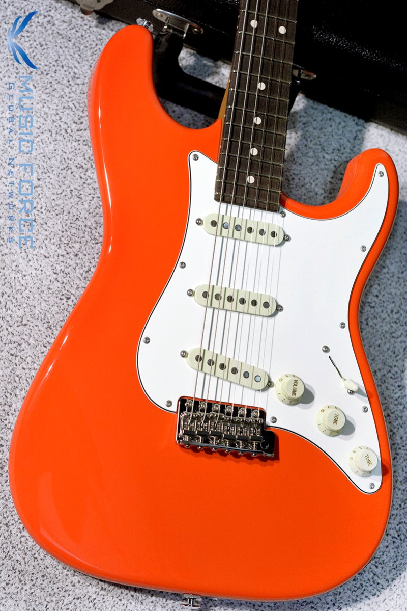 Suhr Scott Henderson Signature Classic SSS-Fiesta Orange w/Roasted Maple Neck & SSCII System(2017년산/신품)