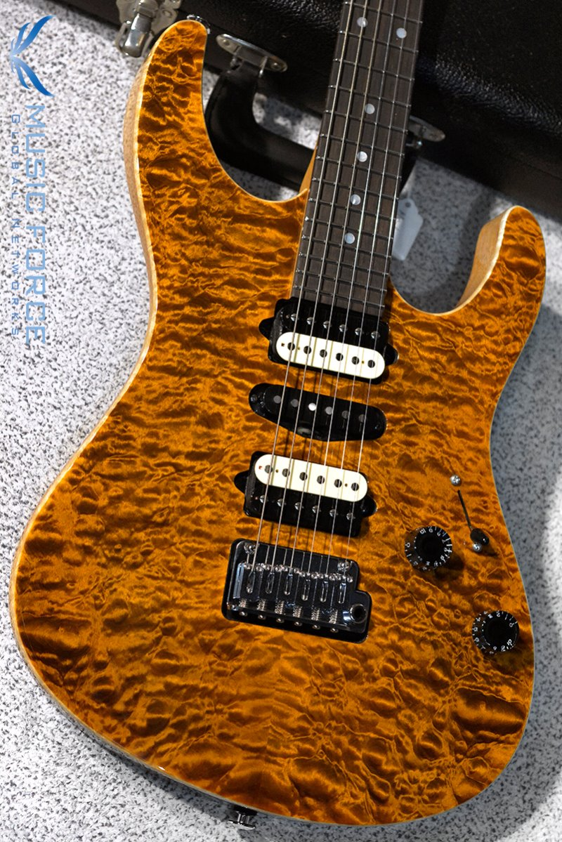 Suhr Custom Modern HSH Quilt Maple Top-Bengal w/Match Figured Headstock(2017년산/신품)