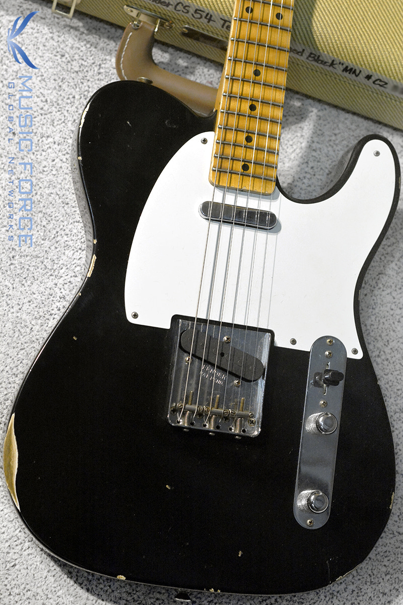 Fender Custom Shop 2018 Collection 1954 Tele Relic-Aged Black(2018년산/신품)