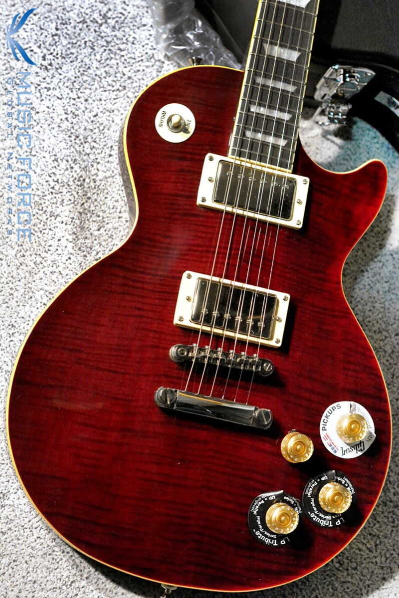 Epiphone Les Paul Tribute Plus Outfit-Black Cherry(신품)