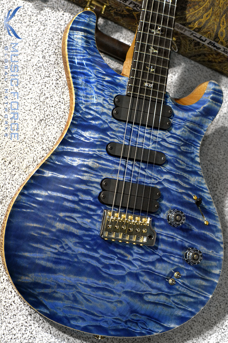 PRS Wood Library 509 Limited-Faded Blue Jean w/Artist Quilt Maple(1-Piece) Top, African Blackwood FB & Hybrid HW(2018년산/신품)