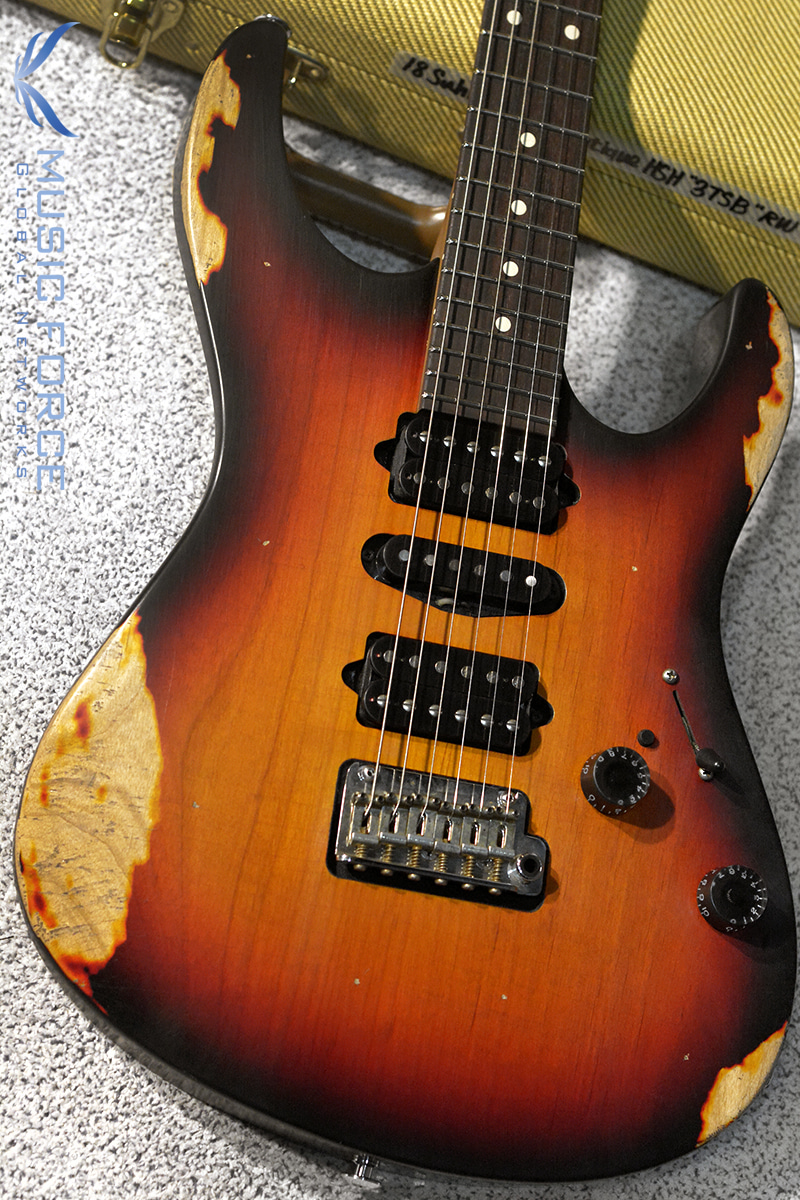 Suhr Custom Modern Antique(Heavy Aging) HSH-3 Tone Burst w/Roasted Maple Neck(2018년산/신품)
