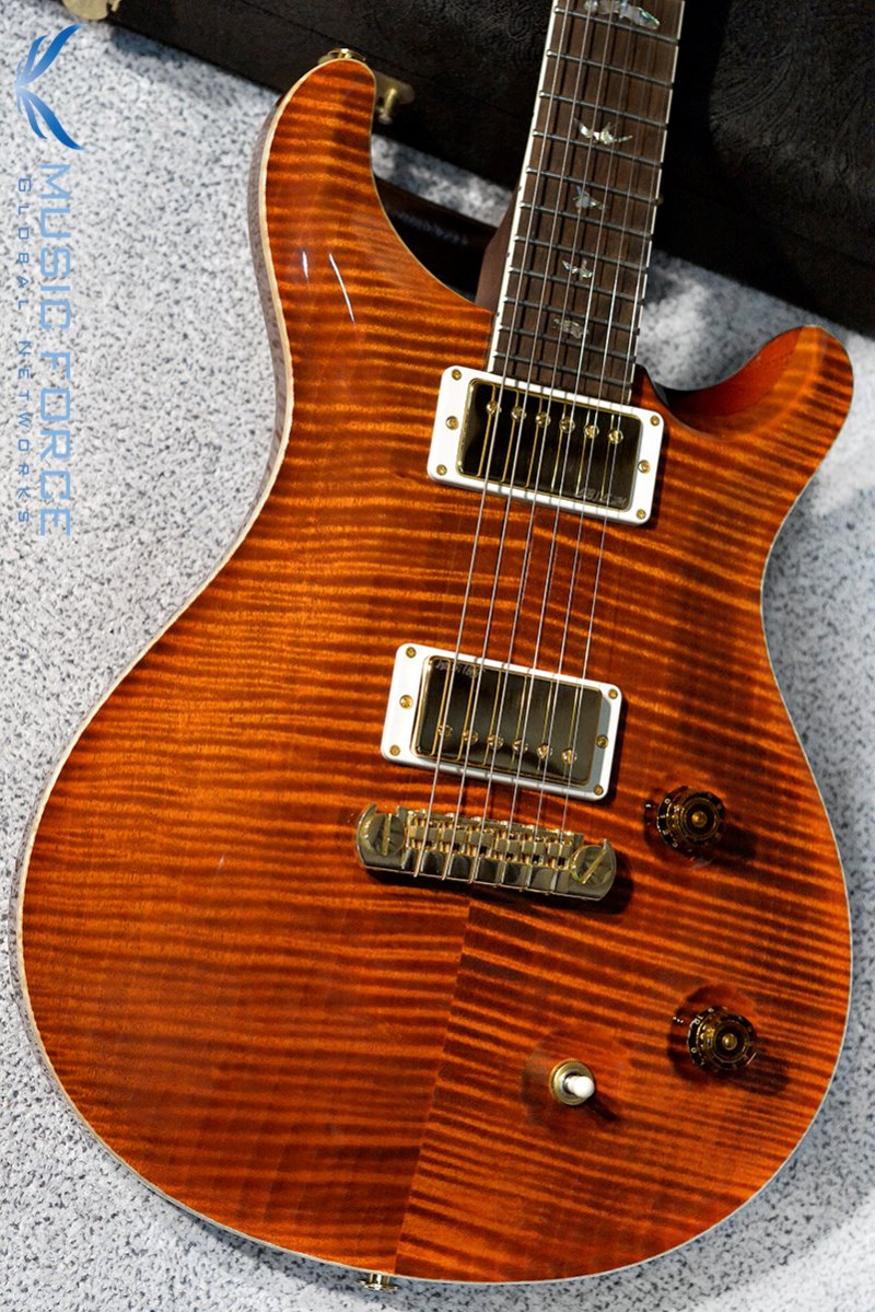 [특별세일] PRS Mccarty Artist Package(Flame)-Burnt Orange w/East Indian Rosewood Neck & Brazilian Rosewood(CITES-Certified) FB(2016년산/신품)