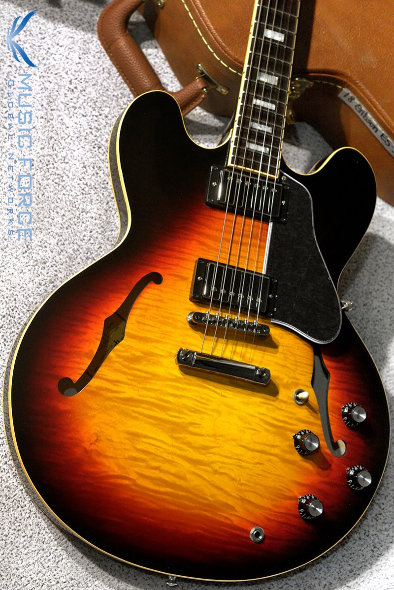[특별세일] Gibson Memphis 2018 Model ES-335 Figured-Antique Sunset Burst #3(신품)
