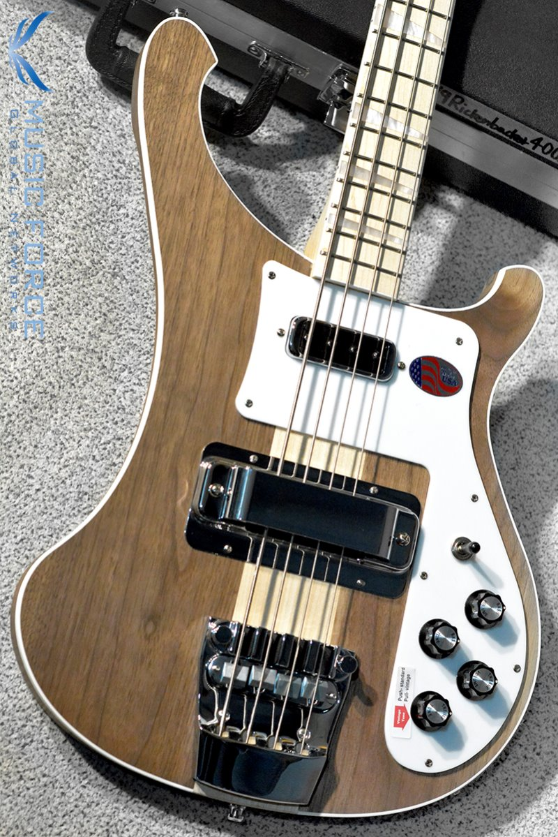 [Used] Rickenbacker 4003W Bass-Natural Walnut w/Maple FB(2019년산/신품급중고)