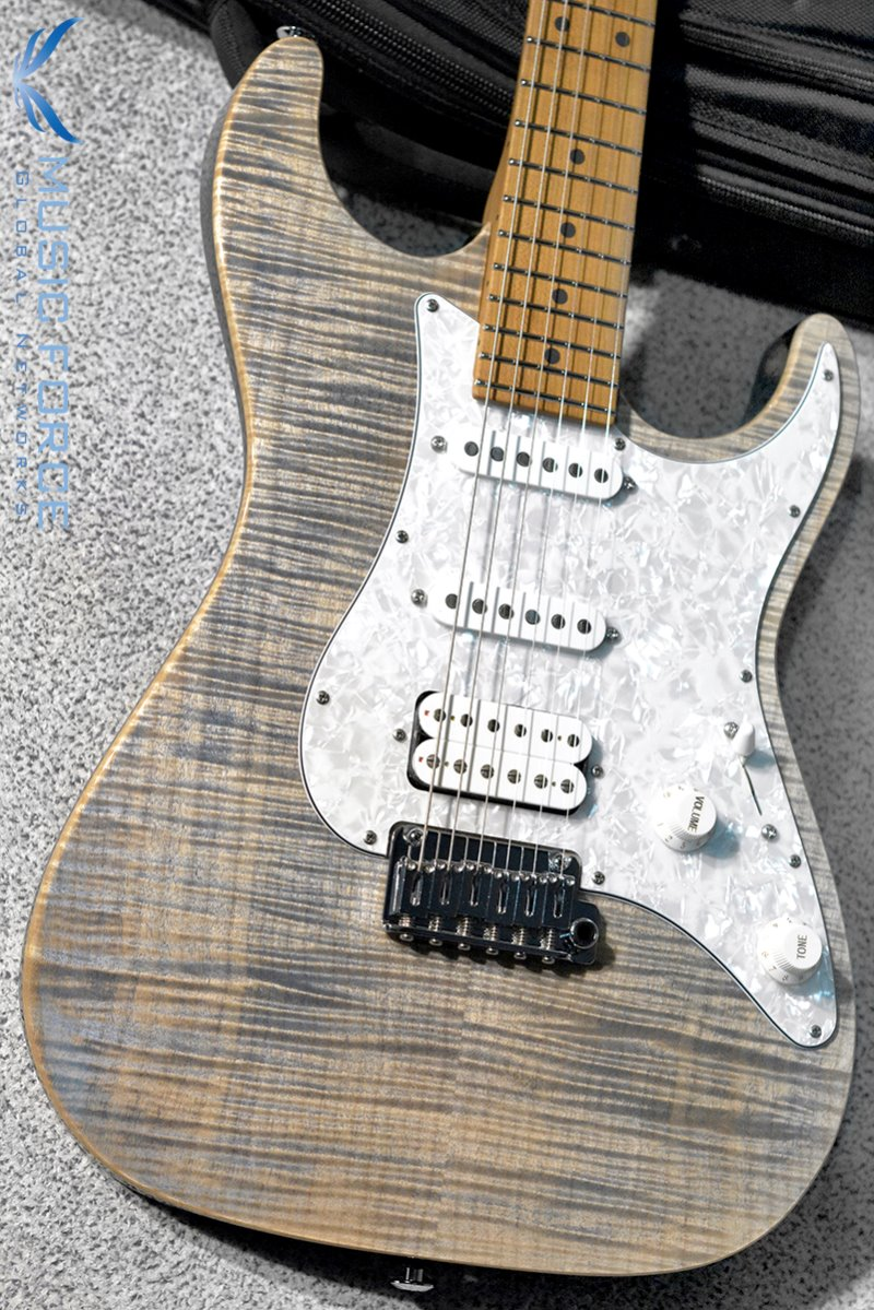 Suhr Standard Plus SSH FMT-Trans Blue Denim Slate w/Roasted Maple Neck & SSCII System(2019년산/신품)