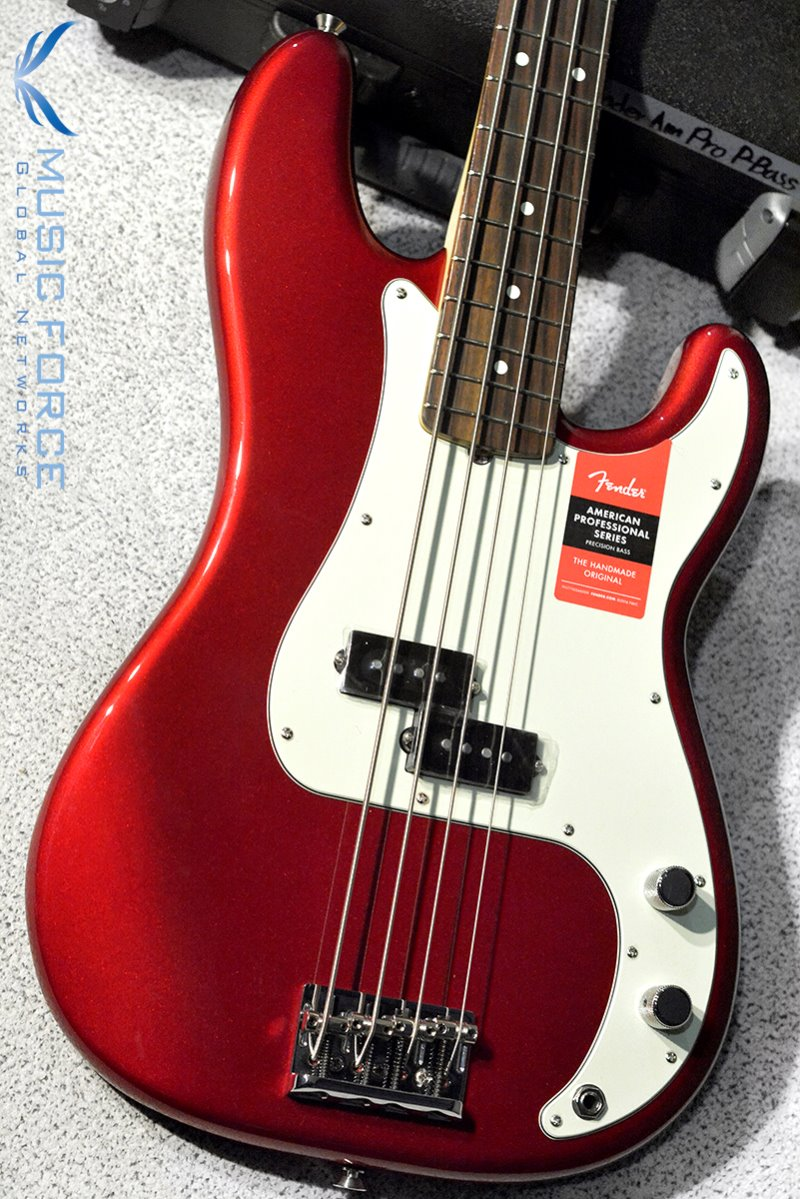 Fender USA American Professional Precision Bass-Candy Apple Red w/Rosewood FB (2017년산/신품) 펜더 아메리칸 프로페셔널 프레시젼 베이스