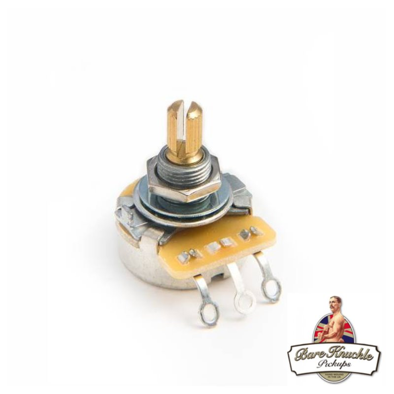 Bare Knuckle CTS 550K Potentiometer Short Shaft