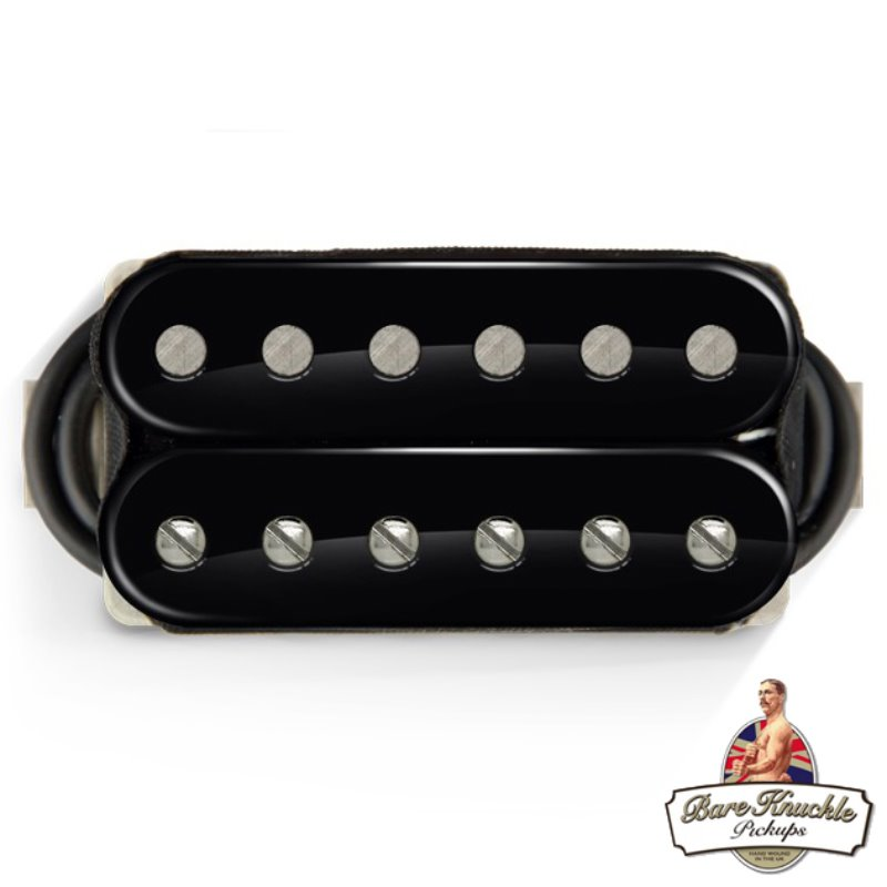 Bare Knuckle Contemporary Nailbomb 6 String Humbucker Pickups (Open Black)