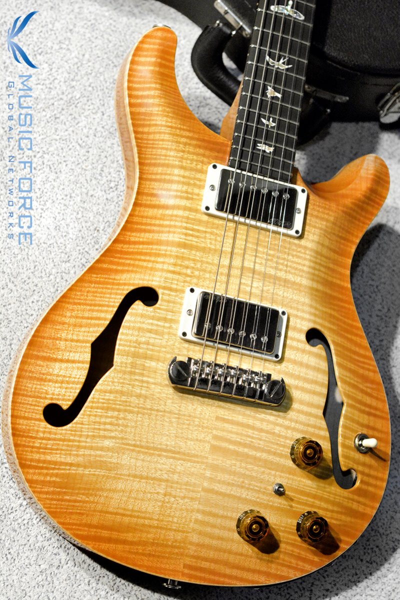 [특별세일] PRS Hollowbody II FMT-Custom Color Vintage Natural w/Double 10top Option & Piezo(2016년산/신품)