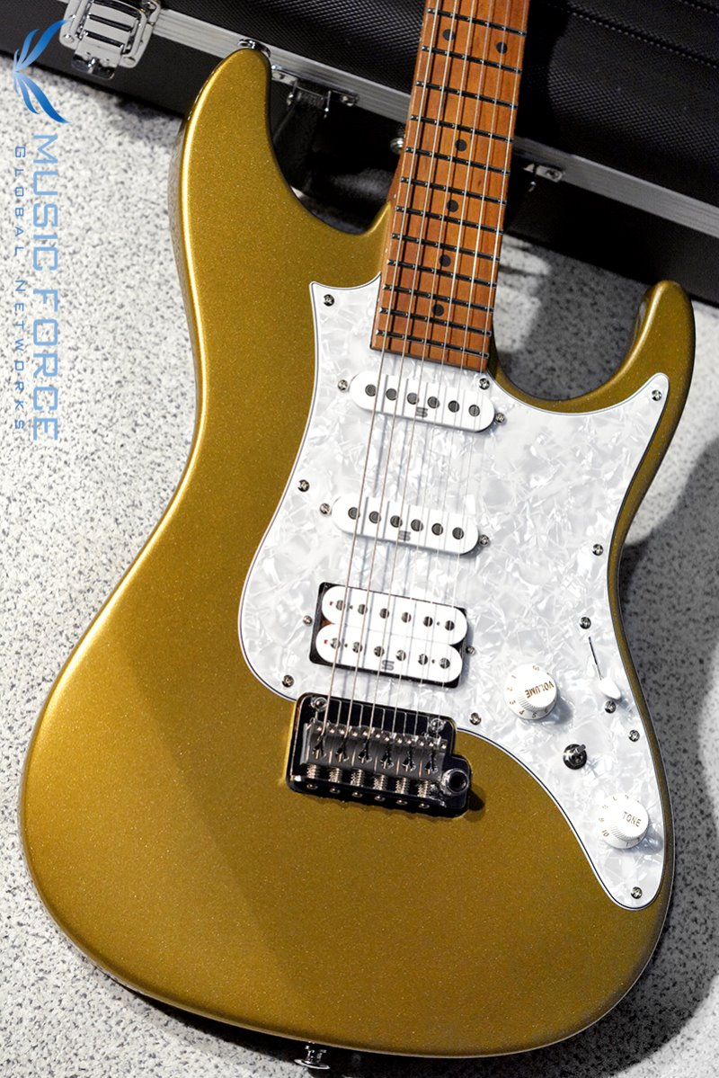 [창사11주년기념세일] Ibanez AZ Prestige AZ2204-Gold (Made in Japan/2019년산/신품)