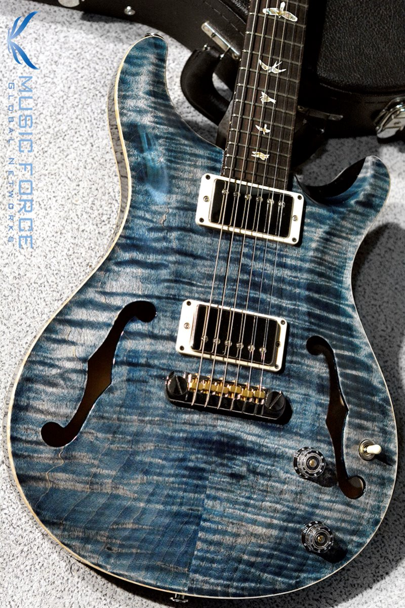[파이널세일(~12/31까지)] PRS Hollowbody II FMT-Faded Whale Blue(2018년산/신품)