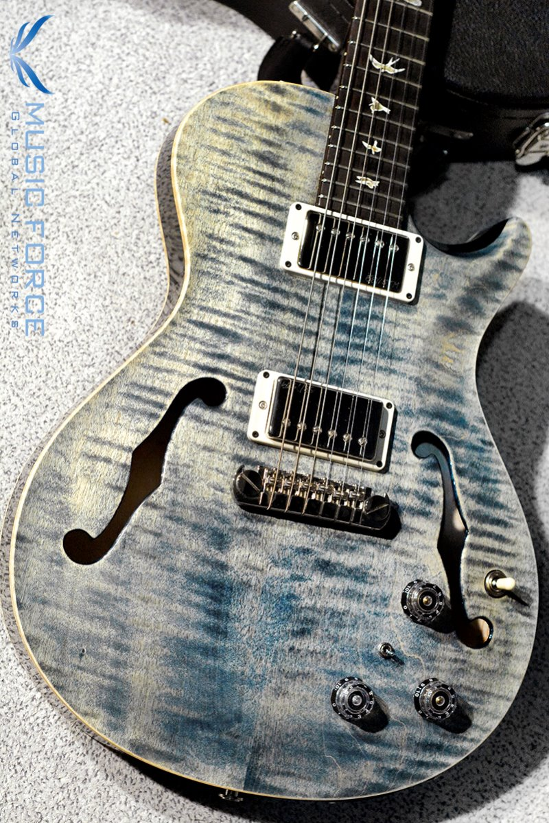 [파이널세일(~12/31까지)] PRS Singlecut Hollowbody II FMT-Faded Whale Blue w/Piezo(2016년산/신품)