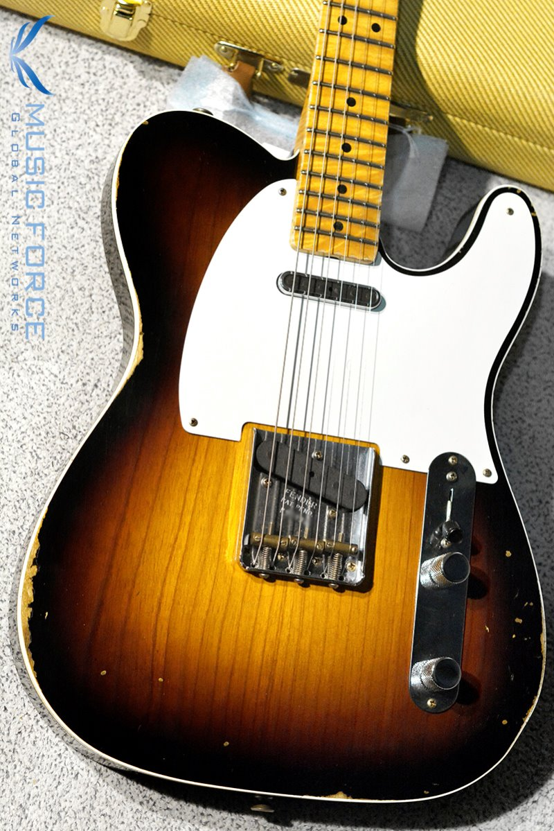 Fender Custom Shop Limited Edition Double Esquire Special Relic-Wide Fade 2TSB w/AAA Flame Neck(2019년산/신품)