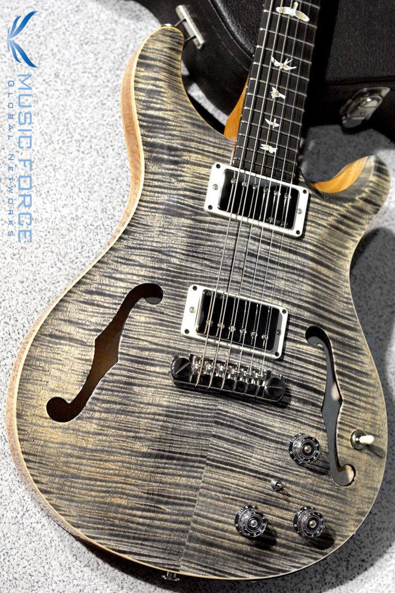 [창사11주년기념세일!!!] PRS Hollowbody II FMT-Custom Color Charcoal w/Double 10top Option & Piezo(2016년산/신품)