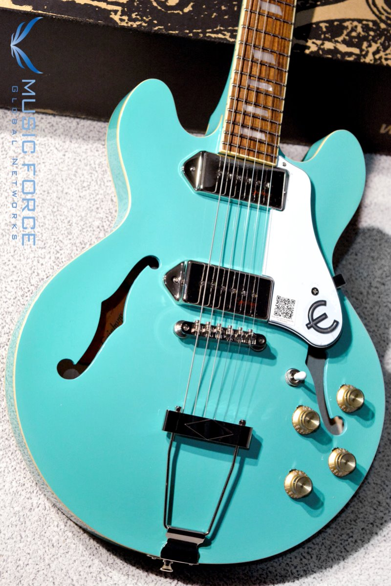 Epiphone Casino Coupe-Turquoise (2018년산/신품)