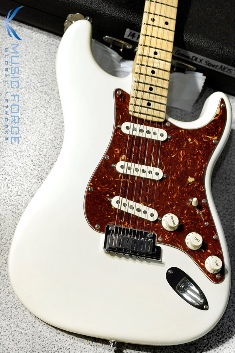 [Used] Fender MBS(Masterbuilt) Custom Deluxe Strat-Antique White w/AA Figured Maple Neck by Yuriy Shishkov(2014년산/Mint급중고)