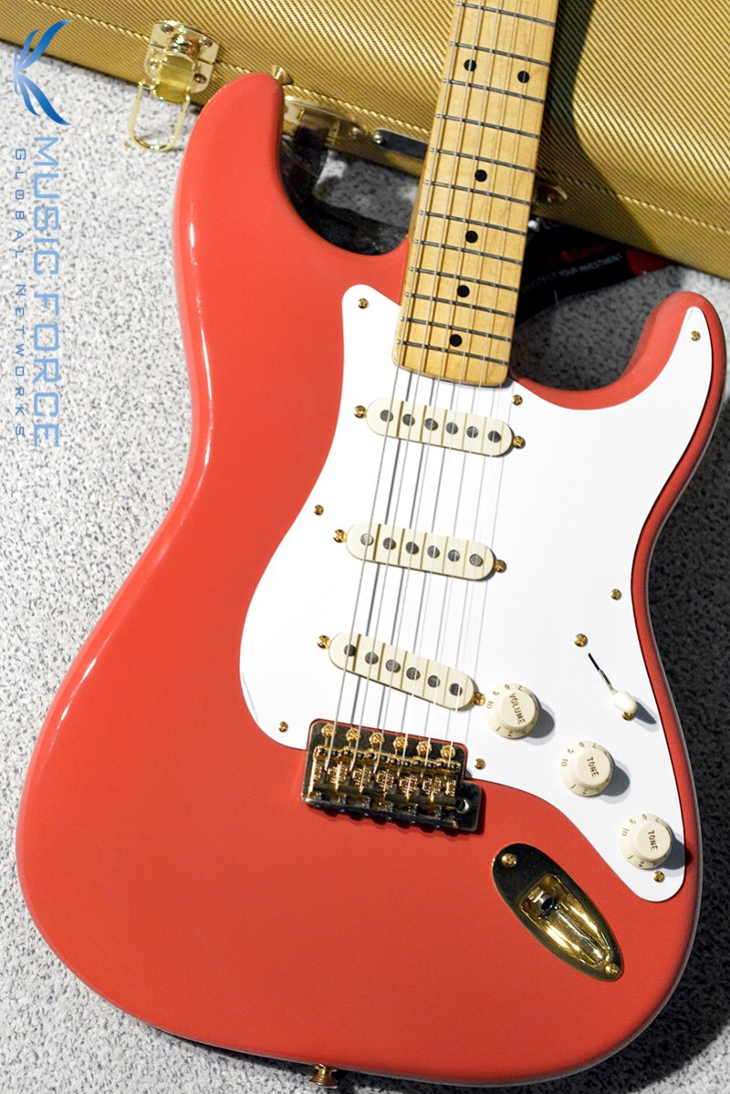 Fender FSR Mexico Classic 50s Stratocaster Limited Edition-Fiesta Red w/Gold HW & Hard Case (2017년산/신품)
