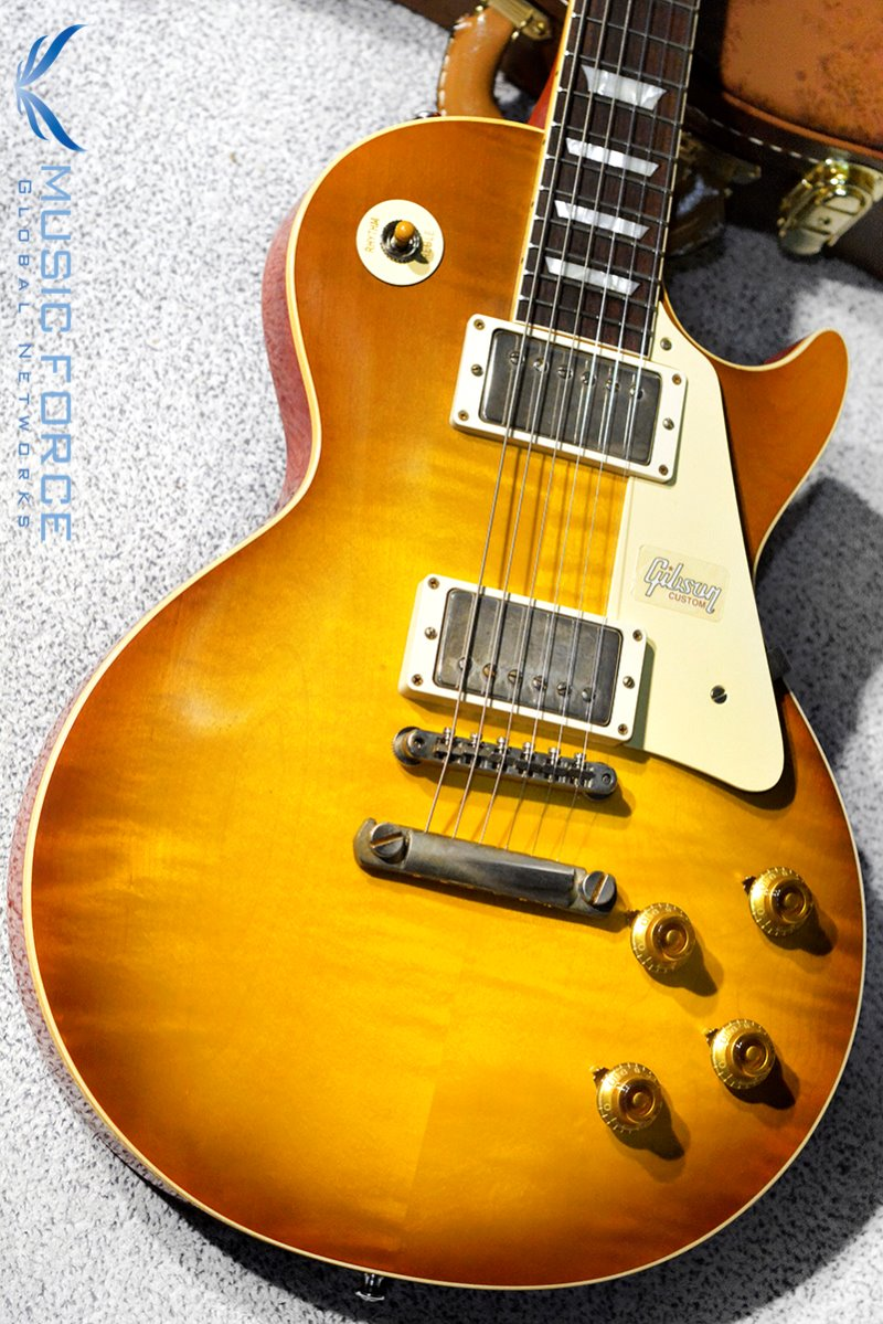 [창사11주년기념세일] Gibson Custom 2018 Model Historic 1958 Les Paul Standard Reissue-Royal Teaburst VOS(2018년산/신품)-881461