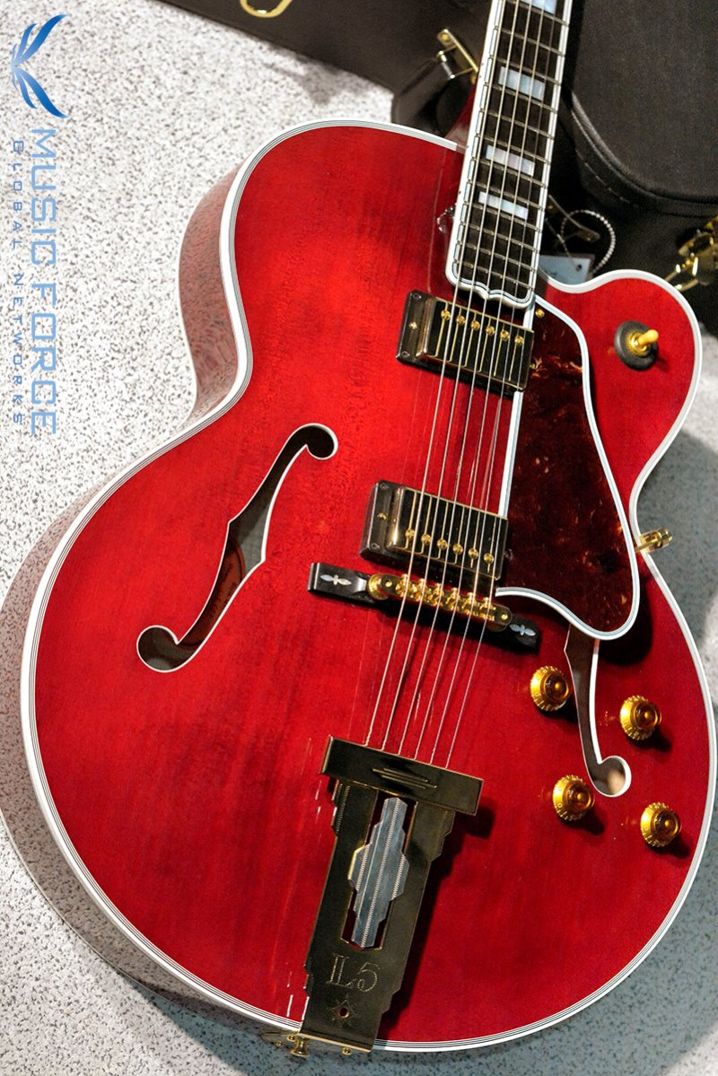 [Used] Gibson Custom(Crimson) Archtop L-5 CES Wine Red(2017년산/신품급중고)