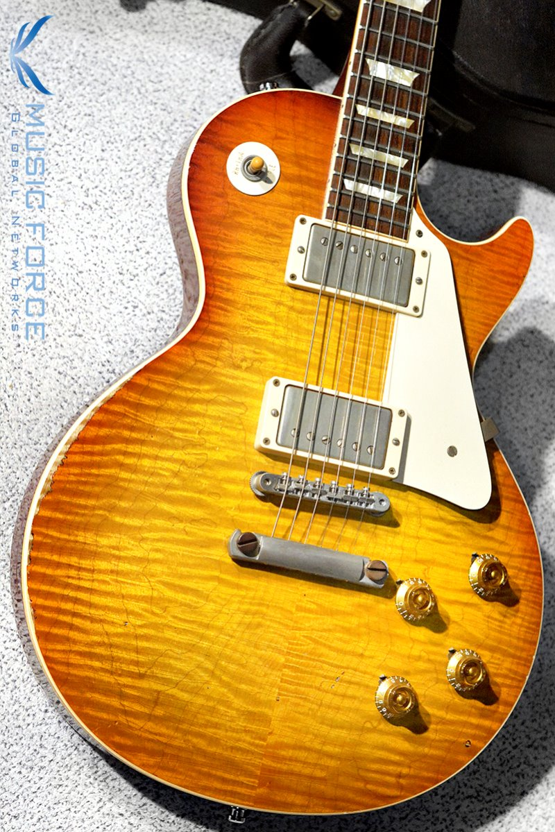 [중고] Gibson Custom 1959 Les Paul Reissue Ultra Aged-Iced Tea by Tom Murphy(2011년산/Mint급중고)