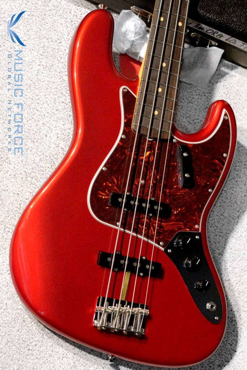 Fender American Original 60s Jazz Bass-Candy Apple Red w/Rosewood FB(2019년산/신품) 펜더 오리지널 60s 재즈 베이스