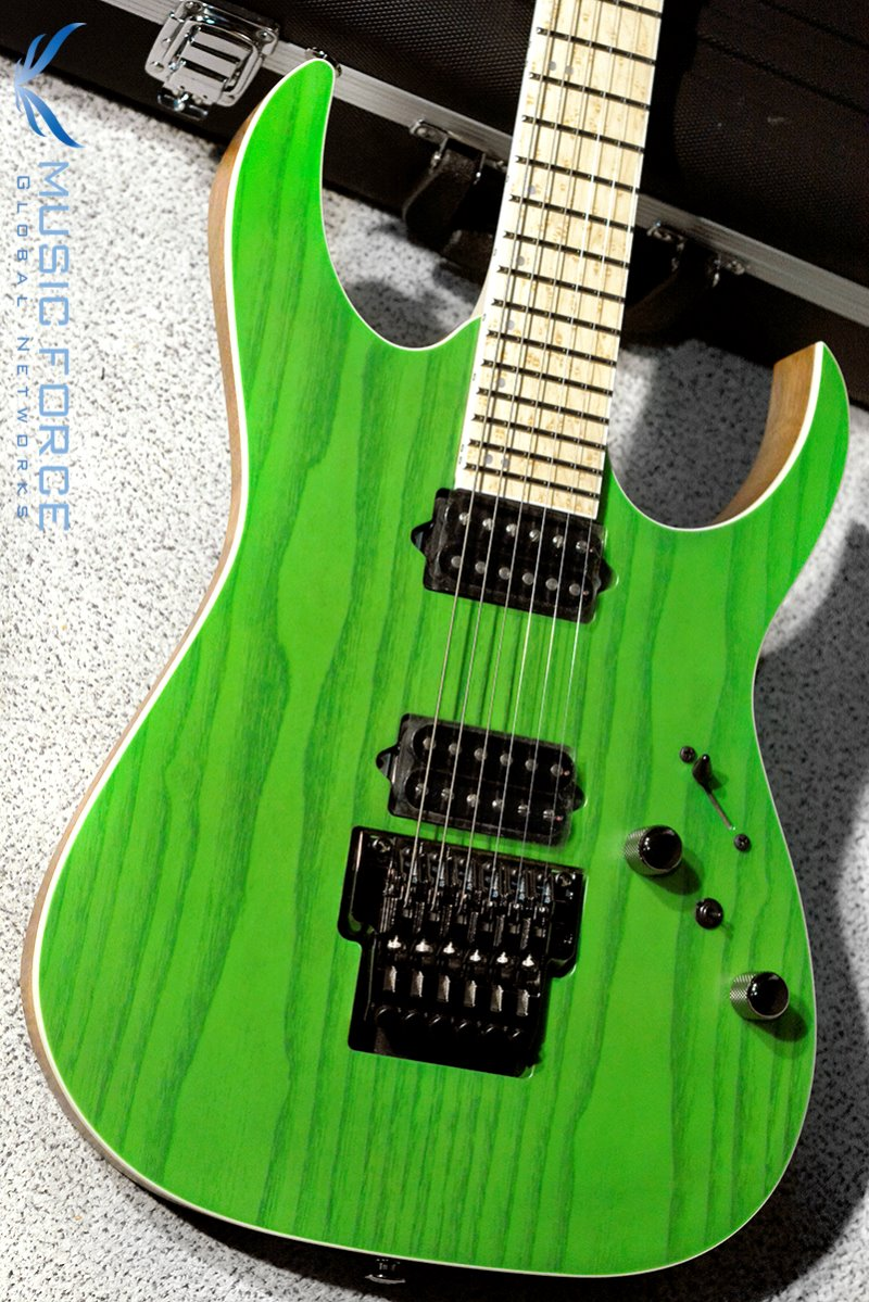 [특별세일] Ibanez RG Prestige RGR5220M-Transparent Fluorescent Green (Made in Japan/2019년산/신품)