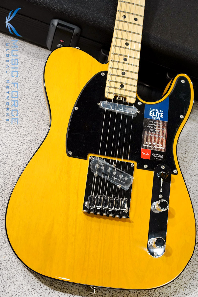 Fender USA American Elite Telecaster Butterscotch Blonde w/Maple FB (2016년산/신품) 펜더 아메리칸 엘리트 텔레캐스터
