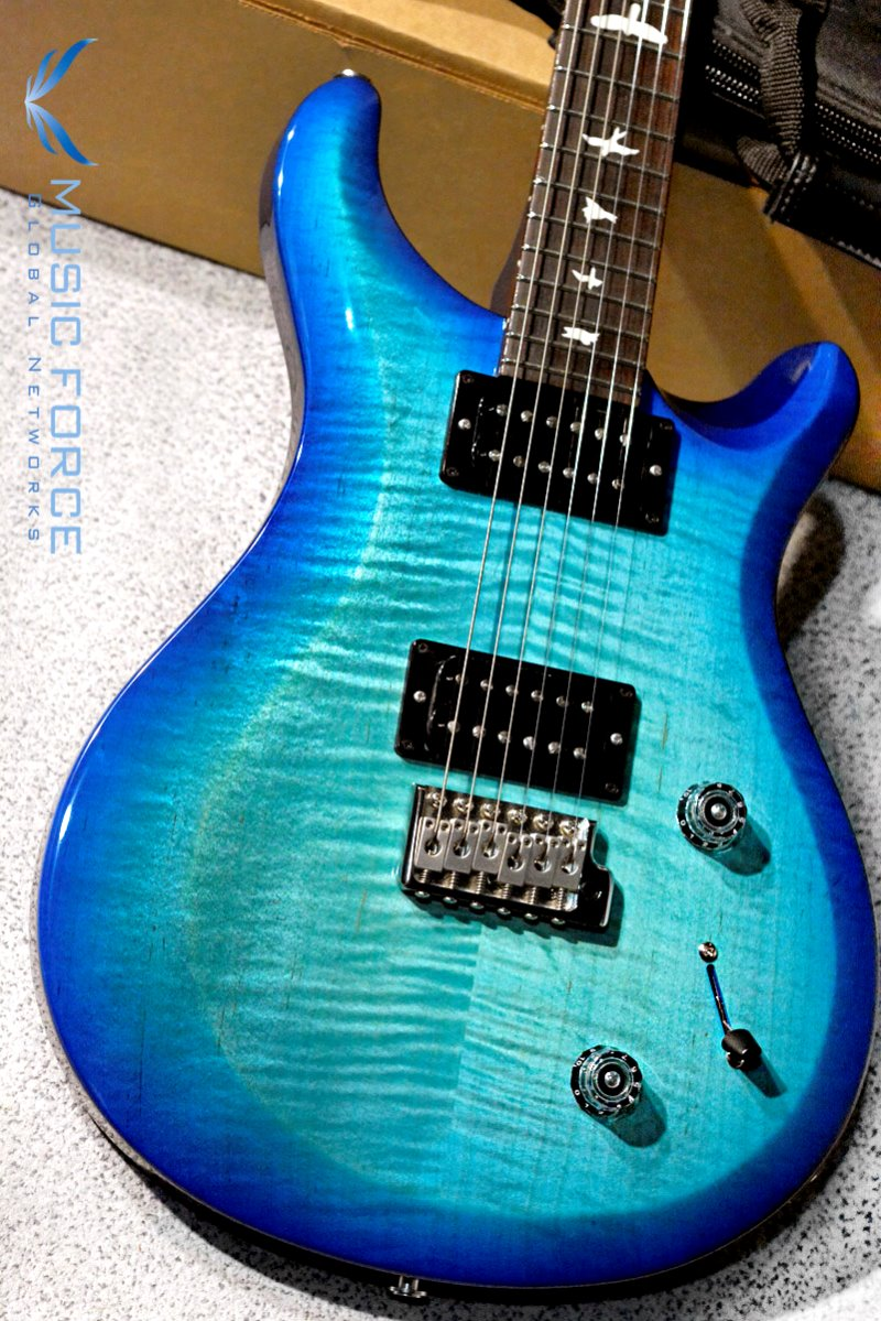 PRS S2 Custom 22-Custom Color Makena Blue w/Birds Inlay(신품) - S2026757