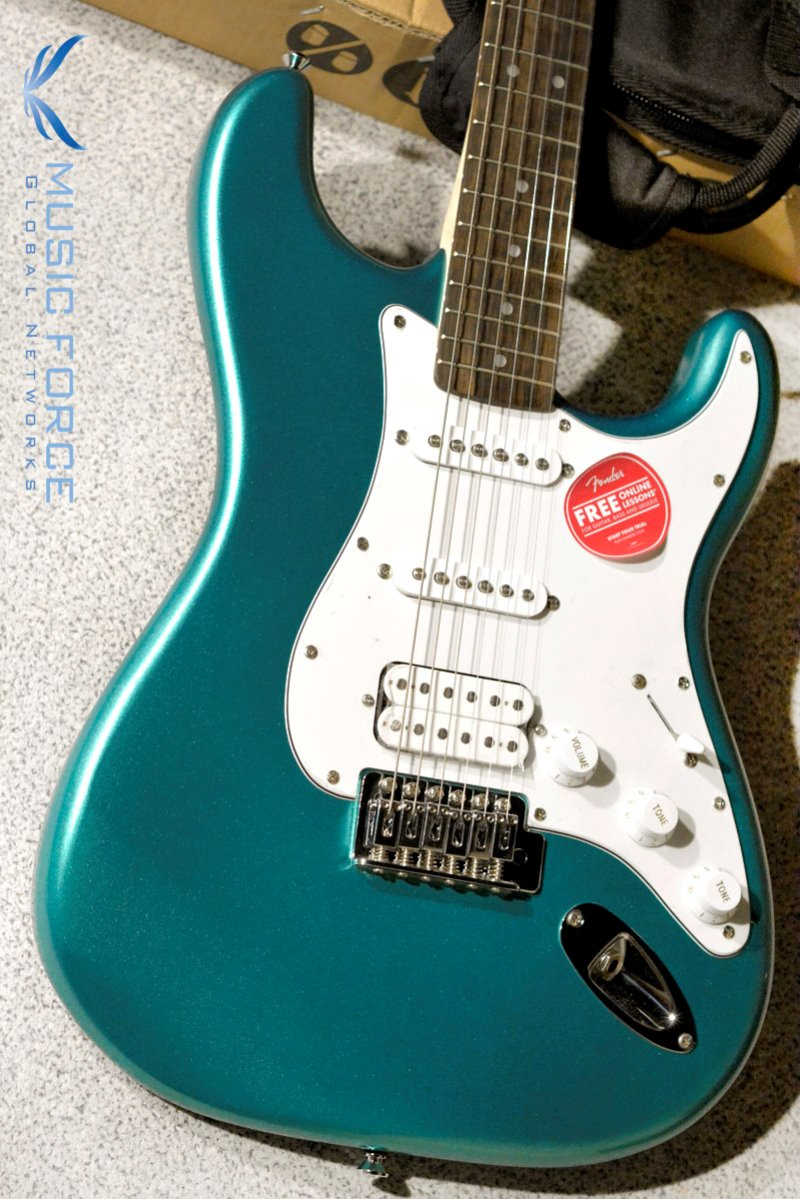 Squier Affinity Stratocaster SSH-Race Green w/Indian Laurel FB (2019년산/신품)