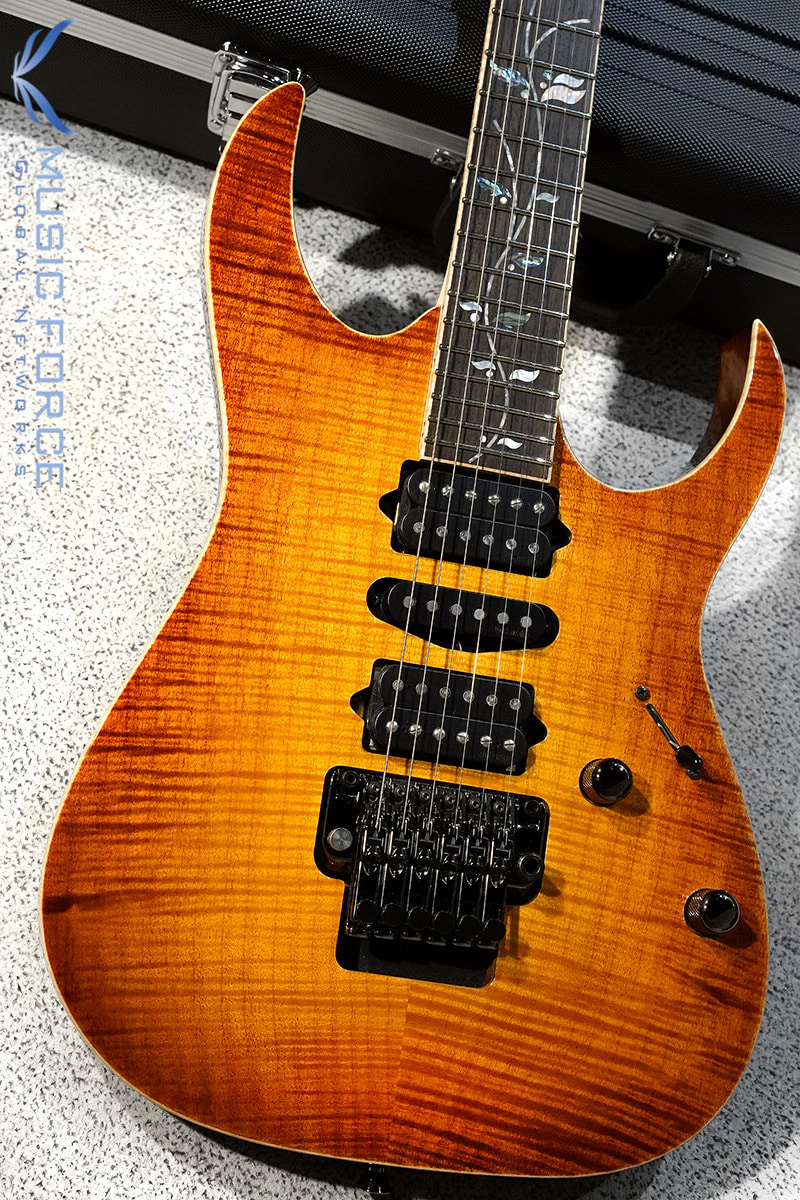 [파이널세일(~12/31까지)] Ibanez J-Custom RG8570Z-Bright Brown Rutile (2019년산/Made in Japan/신품)