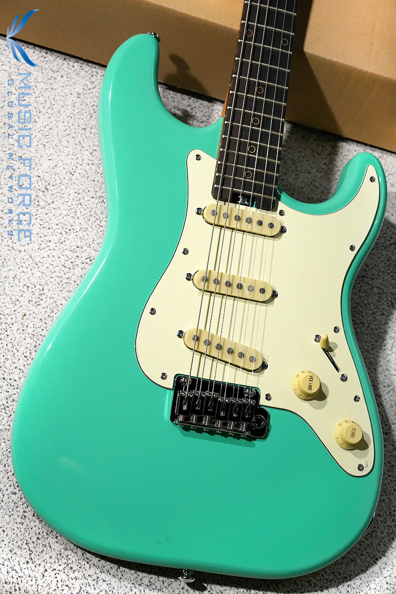 [Nick Johnston 친필사인!!] Schecter Nick Johnston Traditional SSS-Atomic Green(2019년산/신품)