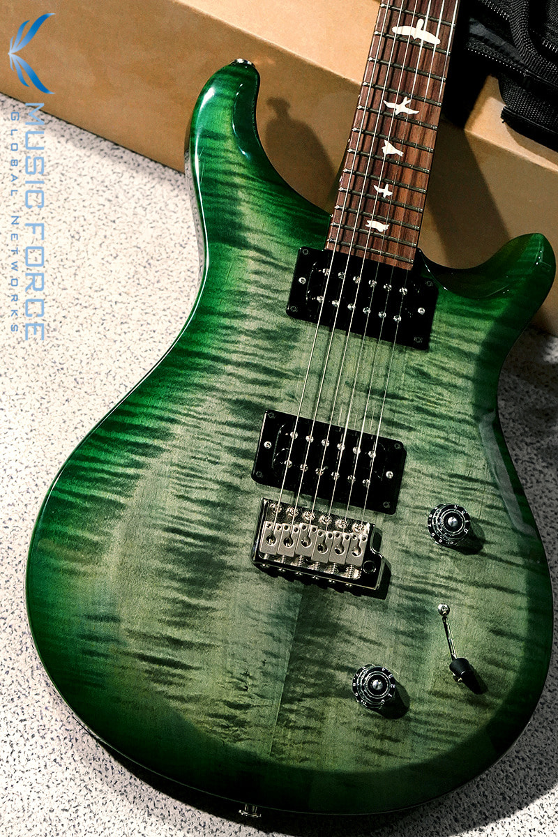 PRS S2 Custom 24-Moss Green w/Birds Inlay(신품) - S2028775