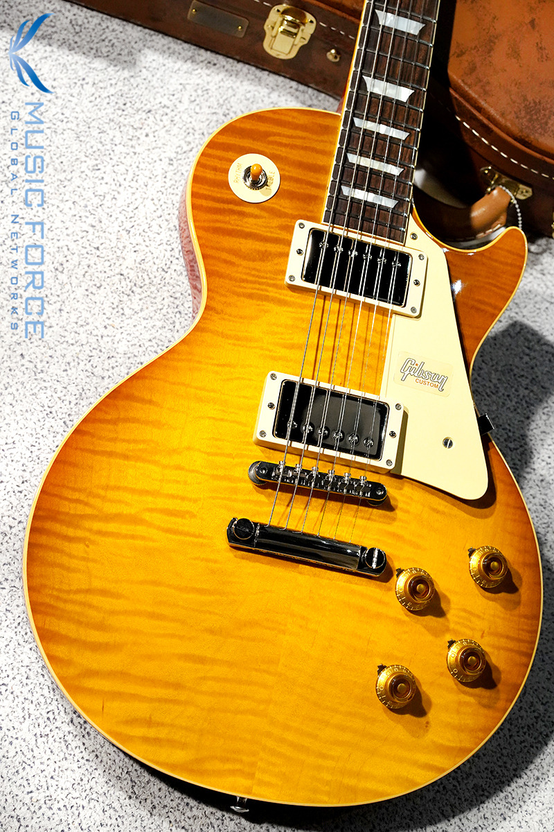 [파이널세일(~12/31까지)] Gibson Custom 2018 Model Historic 1959 Les Paul Standard Reissue-Honey Lemon Fade Gloss(2018년산/신품)-982826