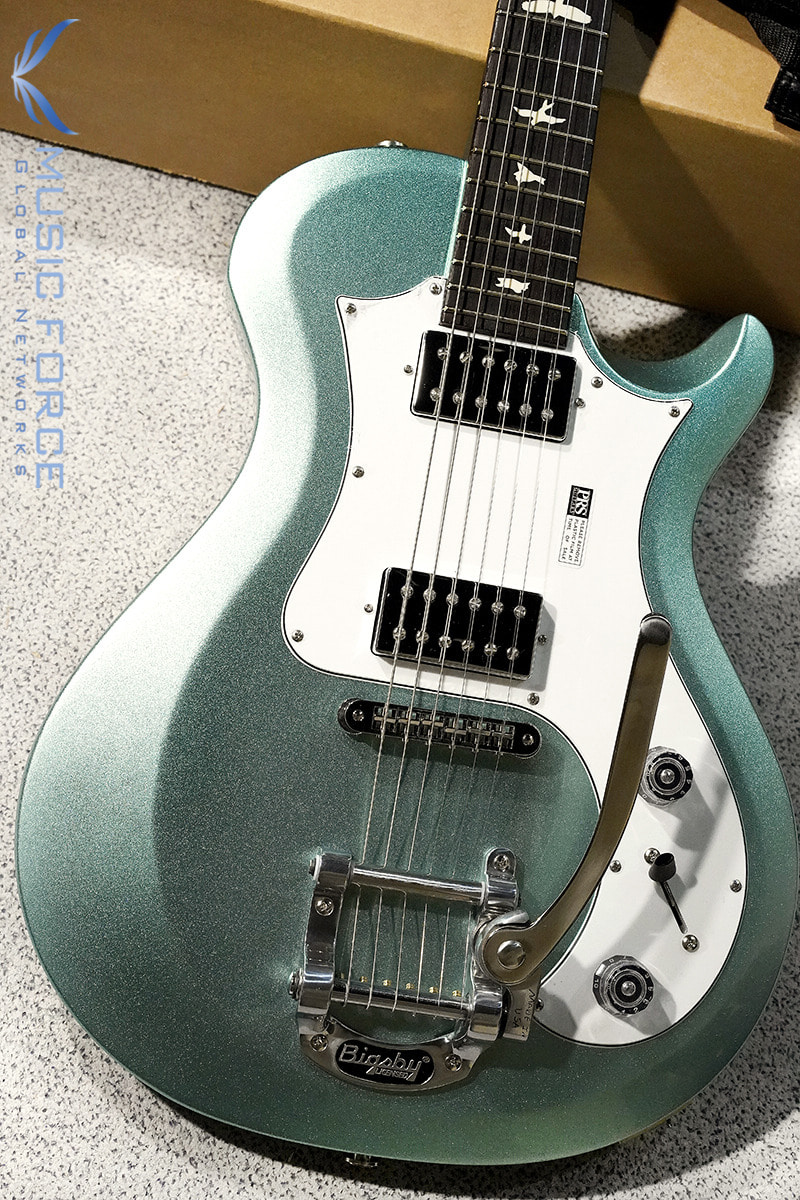 [이월상품창고대방출!!!] PRS S2 Starla-Frost Green Metallic w/Birds Inlay & Bigsby(신품) - 16S2020965