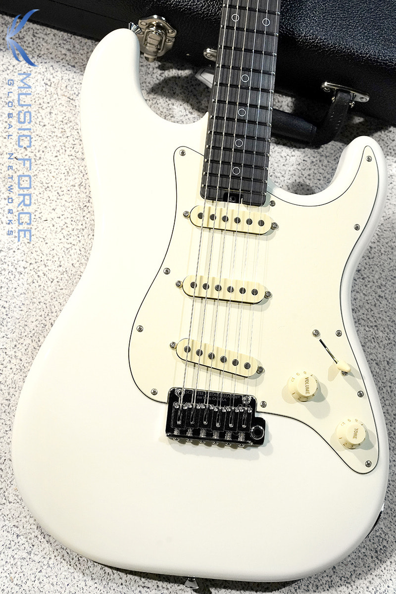 Schecter USA Custom Shop Nick Johnston Signature-Atomic Snow(2019년산/Made in USA/신품)