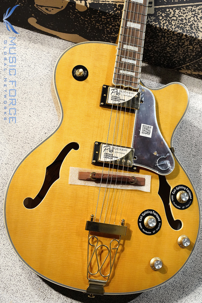 Epiphone Joe Pass Emperor II Pro-Vintage Natural (2019년산/신품)