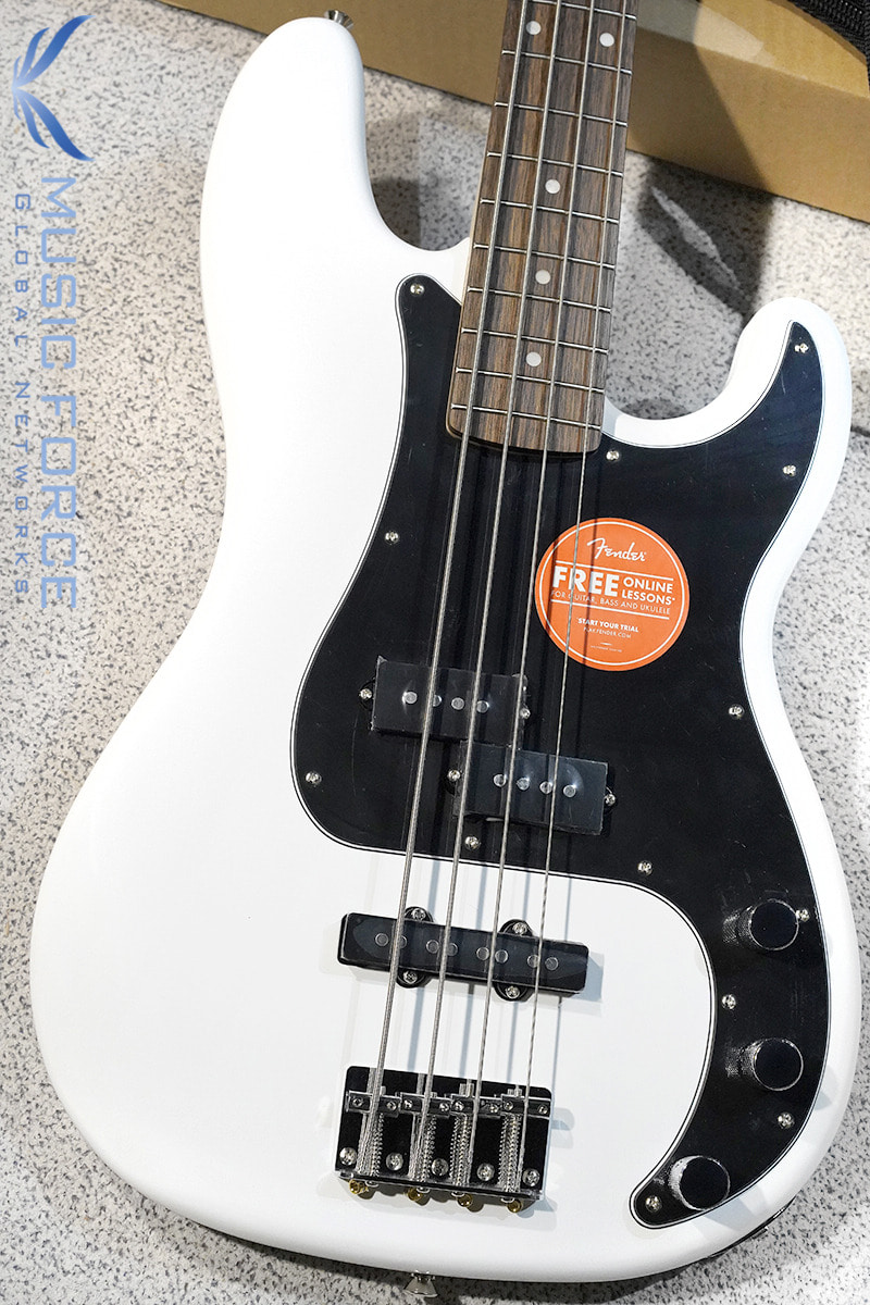 [특별세일] Squier Affinity Precision Bass PJ-OWT w/Indian Laurel FB (2019년산/신품)